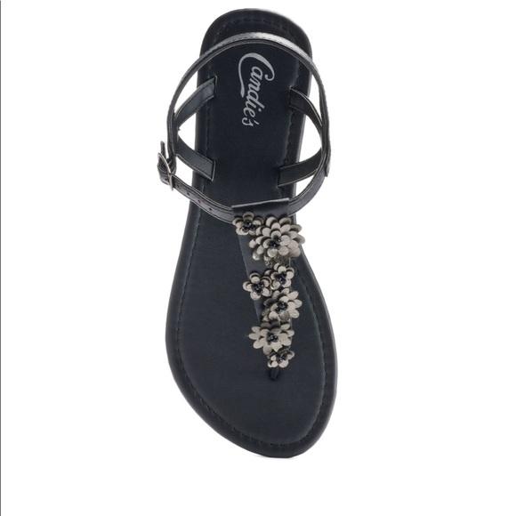 ab98ce86e78c3 New candies black sandal size 11
